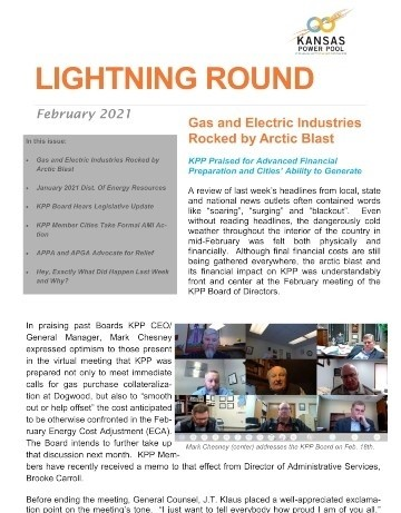 Cover of February Lightning Round