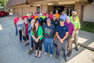 Hillsboro City Members Standing In Front of Hillsboro City Hall