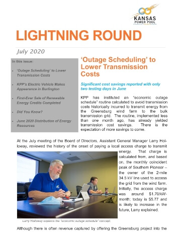 "Cover of July 2020 ""Lightning Round"""